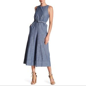 HP 💕 A+O Everly Striped Culotte Jumpsuit Size 2